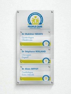 Multi-plaques Triple 01