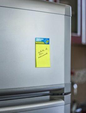 Magnet frigo Post-it 04