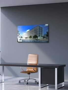 Tableau Alubond 120 x 60 cm