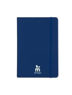 Le bloc-note Cuir / Bleu