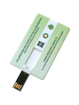 La clé-carte USB