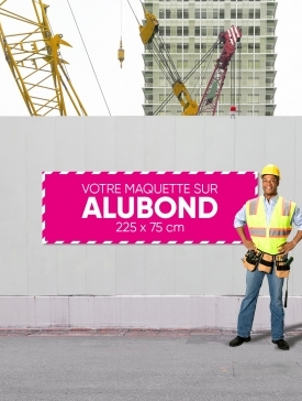 Panneau Alubond XL ⅓ / 03